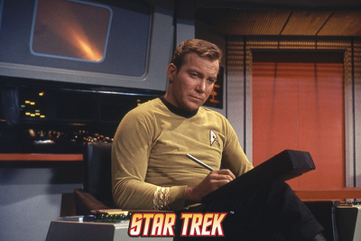 Star Trek: The Original Series, Captain James T. Kirk Stretched Canvas Print