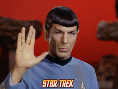 Star Trek: The Original Series, Mr. Spock Stretched Canvas Print