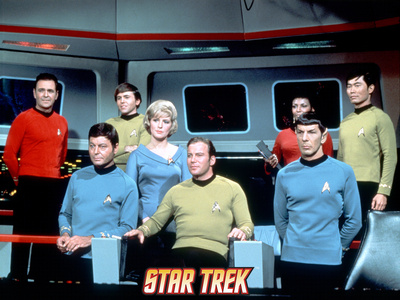 Star Trek: The Original Series Cast Stretched Canvas Print