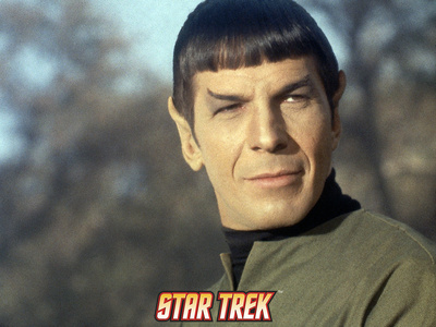 "Star Trek: The Original Series, Mr. Spock in ""This Side of Paradise"" Stretched Canvas Print"