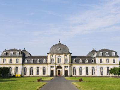 Botanical Gardens, Bonn, North Rhineland Westphalia, Germany, Europe Stretched Canvas Print