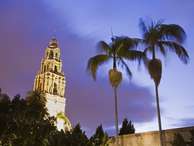 Museum of Man in Balboa Park, San Diego, California, United States of America, North America Stretched Canvas Print