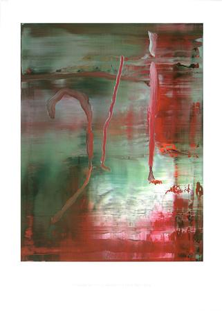 Abstraktes Bild 889-5 c2004 art abstrait affiche tableaux par Gerhard Richter