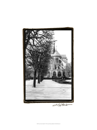 Notre Dame Cathedral IV Stretched Canvas Print