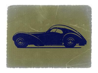 Bugatti 57 S Atlantic Stretched Canvas Print