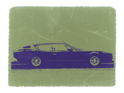 Lamborghini Espada Stretched Canvas Print
