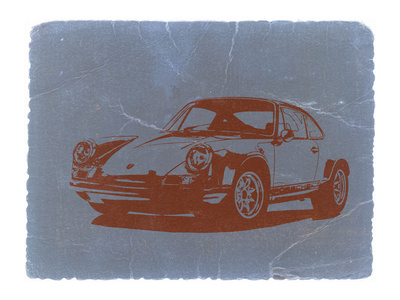 Porsche 911 Stretched Canvas Print