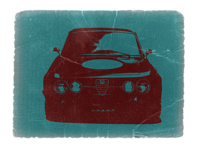 Alfa Romeo Stretched Canvas Print