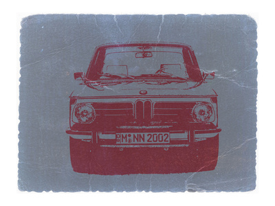 Bmw 2002 Front Stretched Canvas Print