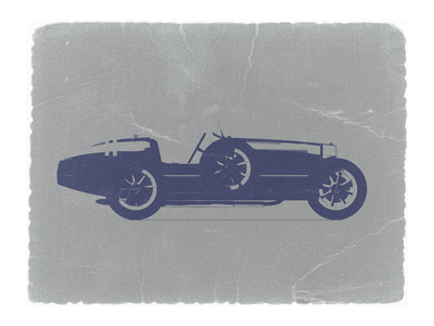 Bugatti Type 35 Stretched Canvas Print