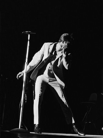 James Brown Shows Off Some of His Signature Moves, May 29, 1968 Stretched Canvas Print