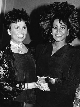 Patti Labelle, Lena Horne,  April 11, 1988 Stretched Canvas Print