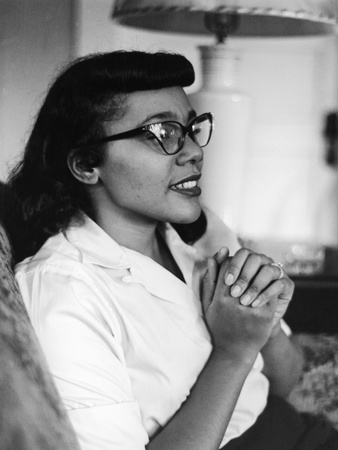Civil Rights Icon Coretta Scott King, 1958 Stretched Canvas Print