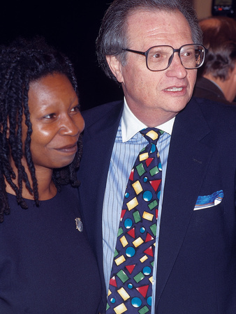 Whoopi Goldberg,Guest of Honor, Friars Club Roast, October 8, 1993 Stretched Canvas Print