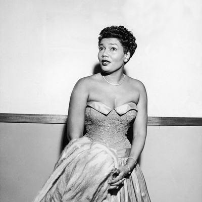 Pearl Bailey, 1954 Stretched Canvas Print