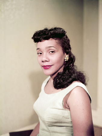 Coretta Scott King, 1958 Stretched Canvas Print