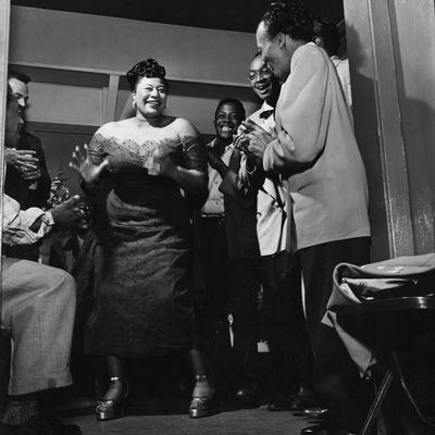 Ella Fitzgerald - 1954 Stretched Canvas Print