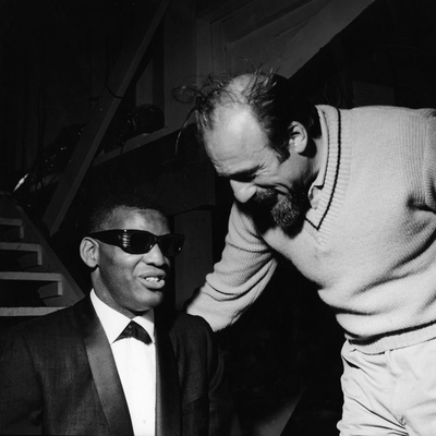 Ray Charles - 1960 Stretched Canvas Print