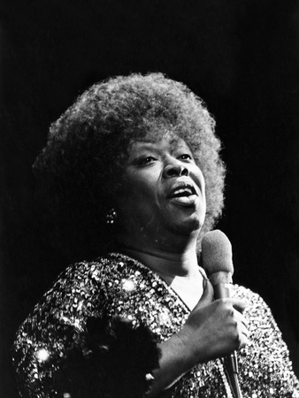 Sarah Vaughan - Colorado 1975 Stretched Canvas Print