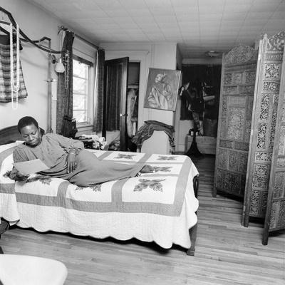 Nina Simone Stretched Canvas Print