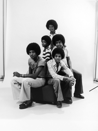 Michael Jackson, The Jackson Five Stretched Canvas Print