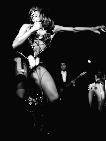 Tina Turner - 1978 Stretched Canvas Print