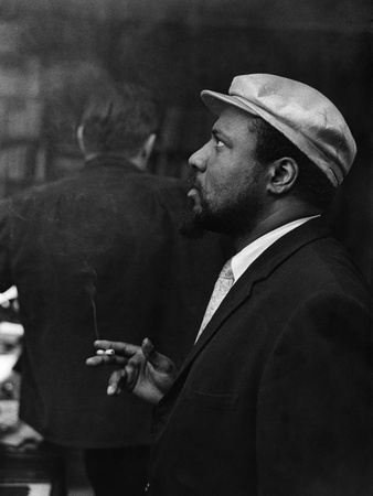 Thelonious Monk - 1964 Stretched Canvas Print