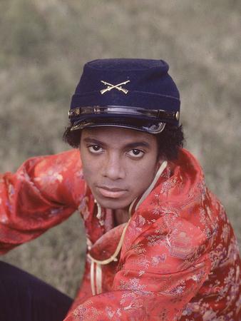 Michael Jackson - 1979 Stretched Canvas Print