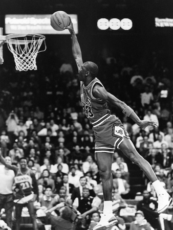 Michael Jordan - 1989 Stretched Canvas Print