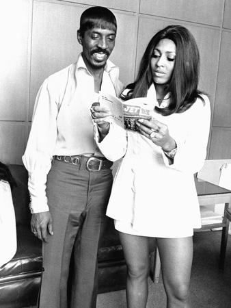 Ike and Tina Turner - 1969 Stretched Canvas Print