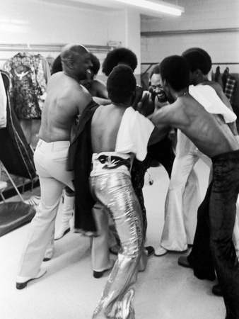Earth, Wind & Fire - 1974 Stretched Canvas Print
