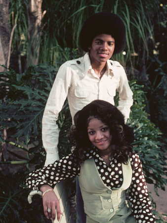 Michael Jackson; La Toya Jackson - 1976 Stretched Canvas Print