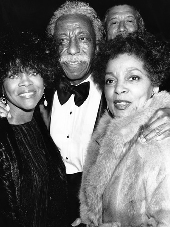 Gordon Parks, Cicely Tyson, Ruby Dee - 1991 Stretched Canvas Print