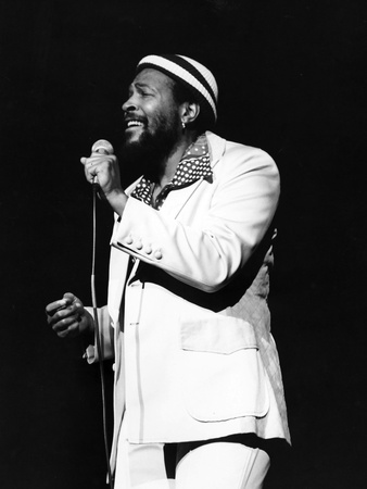 Marvin Gaye Stretched Canvas Print