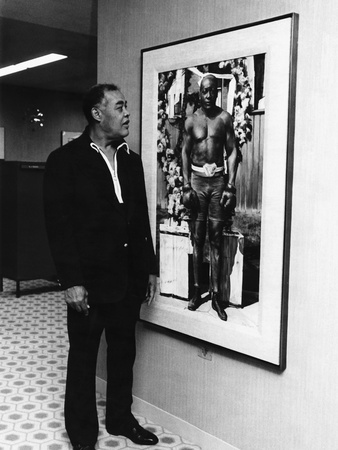 Joe Louis Stretched Canvas Print