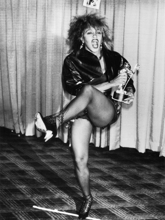 Tina Turner, MTV Awards - 1985 Stretched Canvas Print