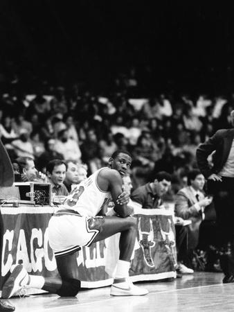 Michael Jordan - 1986 Stretched Canvas Print