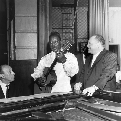 Muddy Waters, Red Saunders, - 1966 Stretched Canvas Print