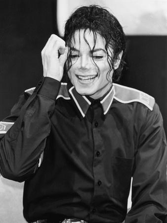 Michael Jackson - 1993 Stretched Canvas Print