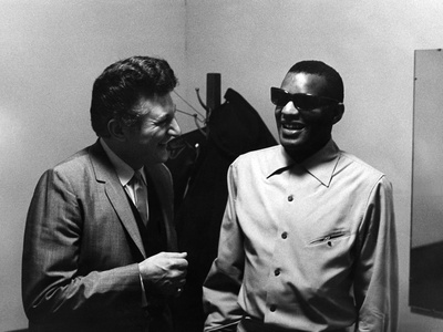 Ray Charles, Liberace - 1973 Stretched Canvas Print