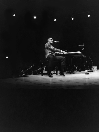 Ray Charles - 1971 Stretched Canvas Print