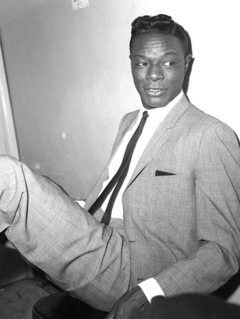 Nat King Cole - 1962 Stretched Canvas Print