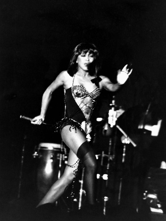 Tina Turner Stretched Canvas Print