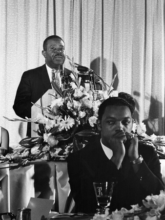 Ralph Abernathy, SCLC Convention - 1967 Stretched Canvas Print