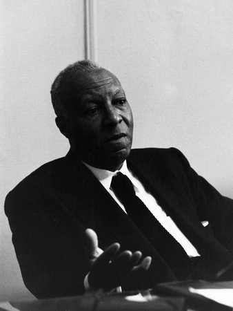 A. Philip Randolph -  1967 Stretched Canvas Print