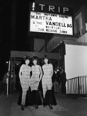 Martha & The Vandellas Stretched Canvas Print