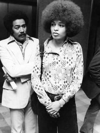 Angela Davis 1973 Stretched Canvas Print
