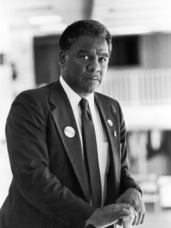 Harold Washington -1980 Stretched Canvas Print
