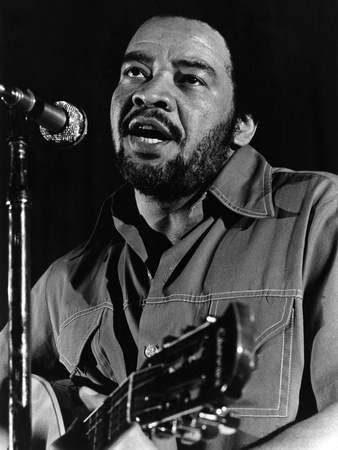 Bill Withers - 1976 Stretched Canvas Print