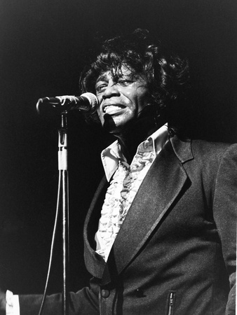 James Brown, Soul Bowl, - 1982 Stretched Canvas Print